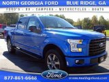 2015 Blue Flame Metallic Ford F150 XLT SuperCrew 4x4 #107797153
