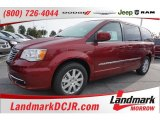 2016 Deep Cherry Red Crystal Pearl Chrysler Town & Country Touring #107842793