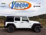 2016 Bright White Jeep Wrangler Unlimited Sport 4x4 #107842908