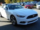 2016 Oxford White Ford Mustang EcoBoost Premium Convertible #107861962