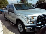 2015 Ingot Silver Metallic Ford F150 XLT SuperCrew #107861763