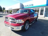 2012 Deep Cherry Red Crystal Pearl Dodge Ram 1500 SLT Quad Cab 4x4 #107861753