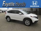 2013 White Diamond Pearl Honda CR-V EX AWD #107881601