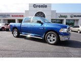 2010 Deep Water Blue Pearl Dodge Ram 1500 Big Horn Crew Cab #107881437