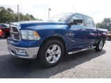 2010 Dodge Ram 1500 Big Horn Crew Cab Front 3/4 View