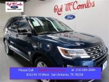 2016 Blue Jeans Metallic Ford Explorer XLT #107881242