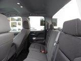 2016 Chevrolet Silverado 1500 LT Double Cab 4x4 Rear Seat