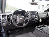 2016 Chevrolet Silverado 1500 LT Double Cab 4x4 Jet Black Interior