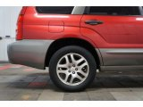 Subaru Forester 2005 Wheels and Tires