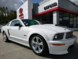 2007 Performance White Ford Mustang Shelby GT Coupe #107881609