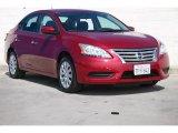 2014 Red Brick Nissan Sentra S #107881397