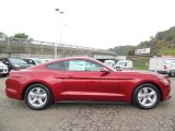 2016 Ruby Red Metallic Ford Mustang V6 Coupe #107881315