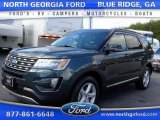 2016 Guard Metallic Ford Explorer XLT 4WD #107881079