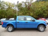 2015 Blue Flame Metallic Ford F150 XLT SuperCrew 4x4 #107881309
