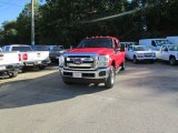 2012 Vermillion Red Ford F350 Super Duty XLT SuperCab 4x4 #107920574