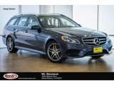 2016 Indigo Blue Metallic Mercedes-Benz E 350 4Matic Wagon #107920440