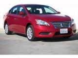 2014 Red Brick Nissan Sentra SV #107920488