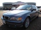 2003 Steel Blue Metallic BMW 3 Series 330i Sedan #10791078