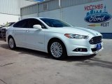 2015 Oxford White Ford Fusion Hybrid SE #107920377