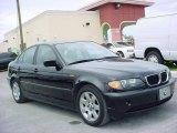 2004 Jet Black BMW 3 Series 325i Sedan #10790708