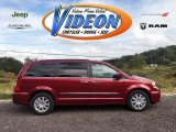 2016 Deep Cherry Red Crystal Pearl Chrysler Town & Country Limited Platinum #107920723