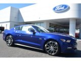 2016 Deep Impact Blue Metallic Ford Mustang GT Coupe #107920477