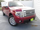 2013 Ruby Red Metallic Ford F150 XL SuperCrew 4x4 #107920535