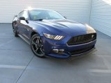 2016 Deep Impact Blue Metallic Ford Mustang GT/CS California Special Coupe #107920531