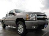 2007 Graystone Metallic Chevrolet Silverado 1500 LTZ Crew Cab 4x4 #10779703
