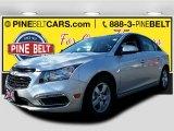 2016 Silver Ice Metallic Chevrolet Cruze Limited LT #107951204