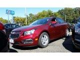 2016 Siren Red Tintcoat Chevrolet Cruze Limited LT #107951202