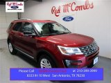 2016 Ruby Red Metallic Tri-Coat Ford Explorer XLT #107951391