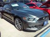 2015 Magnetic Metallic Ford Mustang GT Premium Convertible #107951385