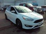 2015 Oxford White Ford Focus SE Hatchback #107951381