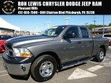 2011 Mineral Gray Metallic Dodge Ram 1500 SLT Quad Cab 4x4 #107952074