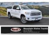 2016 Super White Toyota Tundra Platinum CrewMax 4x4 #107951157