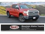 2016 Inferno Orange Toyota Tundra SR5 CrewMax 4x4 #107951153