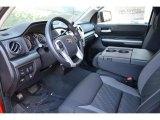 2016 Toyota Tundra SR5 CrewMax 4x4 Black Interior