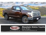 2016 Sunset Bronze Mica Toyota Tundra Limited Double Cab 4x4 #107951152