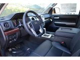 2016 Toyota Tundra Limited Double Cab 4x4 Black Interior
