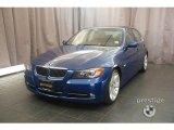 2007 Montego Blue Metallic BMW 3 Series 335i Sedan #10775609