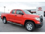 2016 Radiant Red Toyota Tundra SR Double Cab 4x4 #107951719