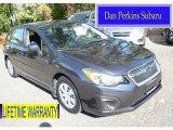 2012 Obsidian Black Pearl Subaru Impreza 2.0i 5 Door #107951129