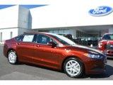 2016 Bronze Fire Metallic Ford Fusion SE #107951710