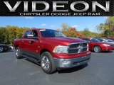2012 Deep Cherry Red Crystal Pearl Dodge Ram 1500 SLT Crew Cab 4x4 #107952449