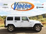2016 Bright White Jeep Wrangler Unlimited Sahara 4x4 #107952439