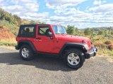 2016 Jeep Wrangler Firecracker Red
