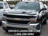 2016 Black Chevrolet Silverado 1500 LT Double Cab 4x4 #107952256