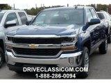 2016 Deep Ocean Blue Metallic Chevrolet Silverado 1500 LT Double Cab 4x4 #107952249