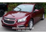 2016 Siren Red Tintcoat Chevrolet Cruze Limited LT #107952245